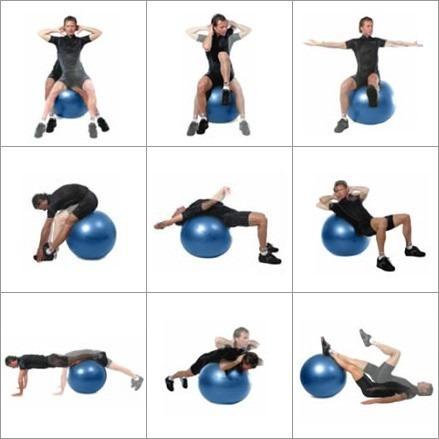 pelota pilates/gimnasio/terapéuticas 65-75-85-95 + inflador