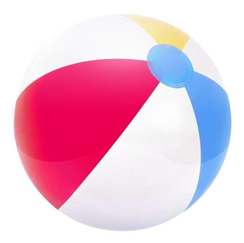 pelota playera inflable para playa y pileta clásica mediana