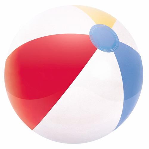 pelota playera inflable pileta y playa colores chica 41 cm