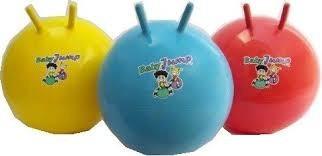 pelota saltarina con agarres inflable regulable pvc