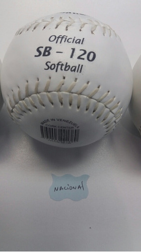 pelota softball nacional 100% original