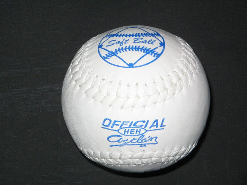 pelota softbol aztlan 9 piezas oficial reglamentaria