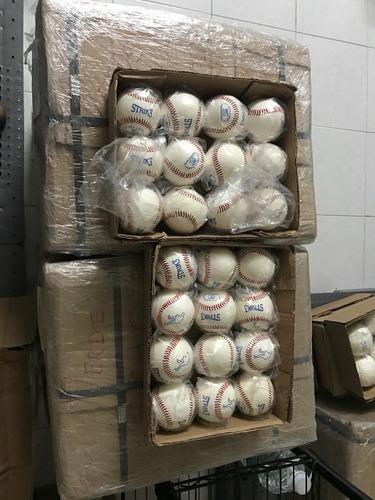 pelota strike beisbol  piel caja docena strik 3 strik3.