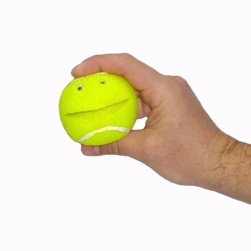 pelota tennis esponja con ojos y boca gags / alberico magic