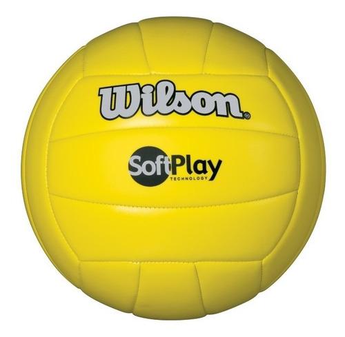 pelota unisex wilson - soft play volleyball amarillo - voley