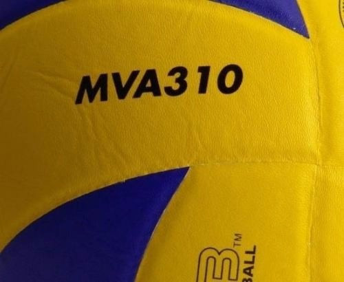 pelota voley mikasa mva 310 cuero oficial fivb volleyball