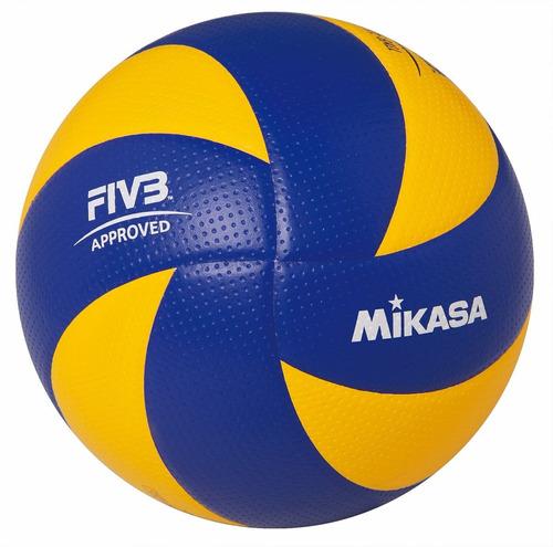 pelota voley mikasa mva200 cuero oficial volley olimpiadas