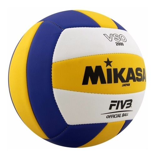 pelota voley mikasa vso2000 cosida beach volley importada