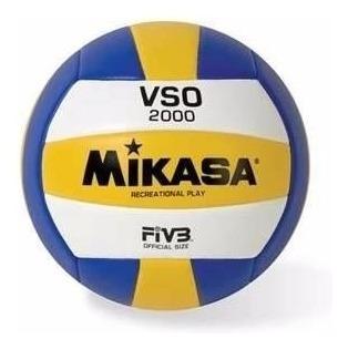 pelota voley mikasa vso2000 cosida beach volley importada