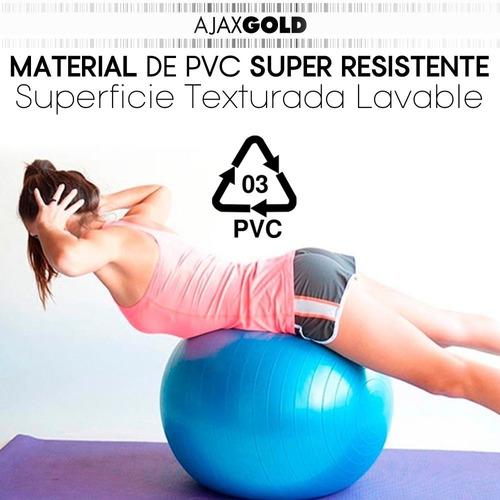 pelota yoga 65 cm esferodinamia gym pilates ball importada