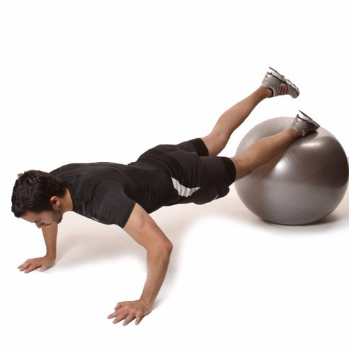 pelota yoga suiza pilates live up sports 75 cm