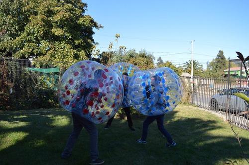 pelotas chocadoras - bumper ball 1.5 mts de diametro
