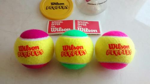 pelotas colores wilson tenis paddle