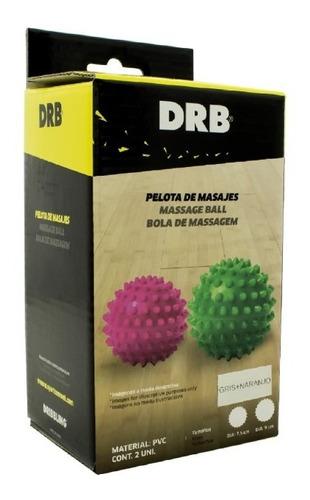pelotas con pinches masajeadoras drb® x 2 rehabilitación gym