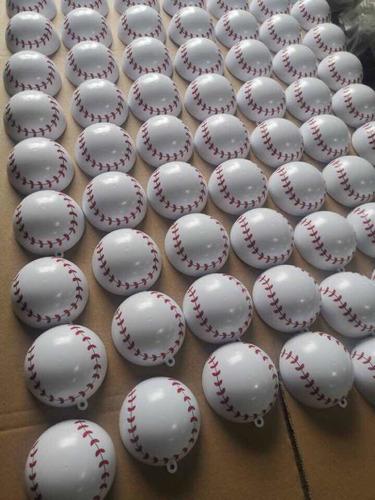 pelotas de béisbol baseball gender reveal polvo azul rosado