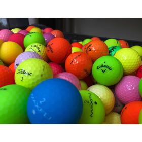 Pelotas De Golf Colores 24