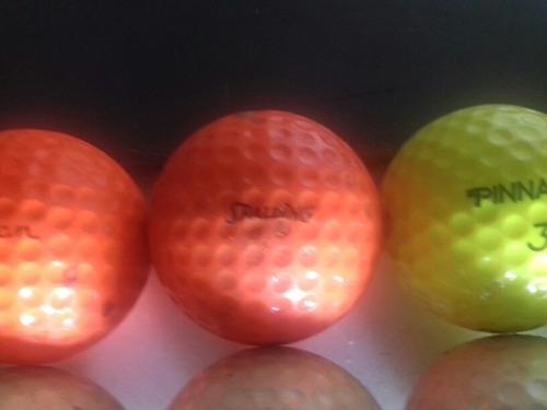 pelotas de golf nuevas sin uso