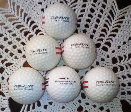 pelotas de golf para practica (usadas) combo de 70 pelotas