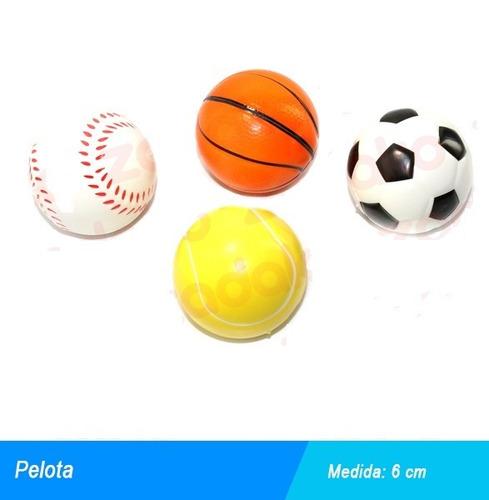 pelotas de goma diversas