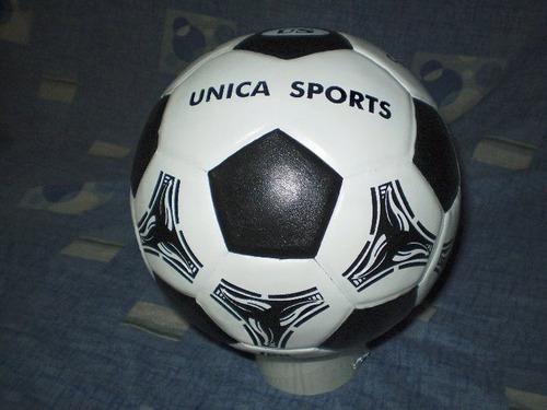 pelotas de papi futbol en cuero legitimo