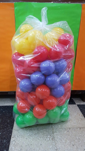 pelotas de pelotero bolsa x100 unidades july toys