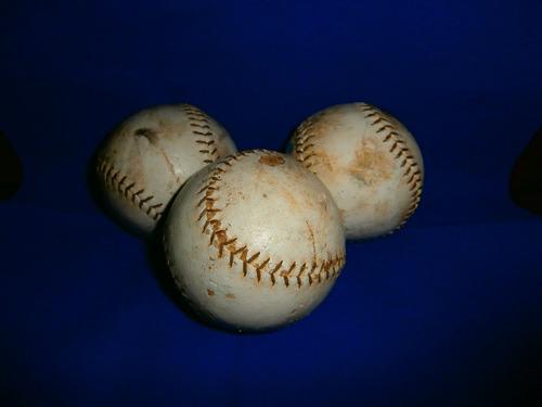 pelotas de softball.