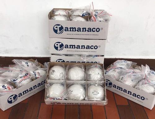 pelotas de softball (letras negras) tamanaco sb - 120
