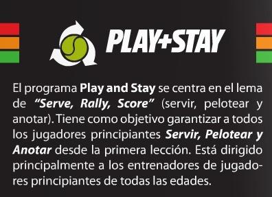 pelotas de tenis play & stay de baja presión para niños