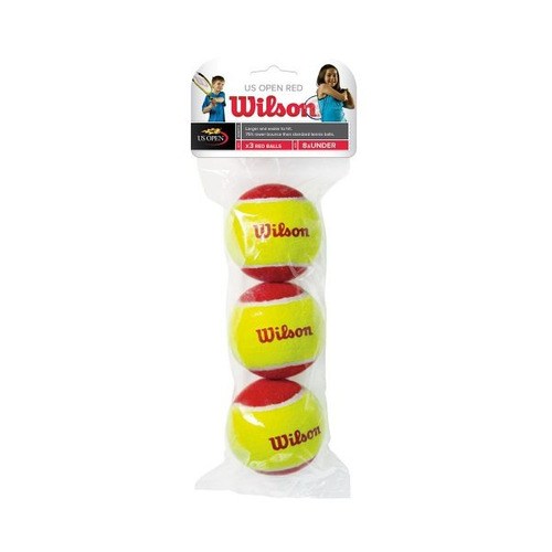 pelotas de tenis wilson - starter red tball 3 pack - tenis