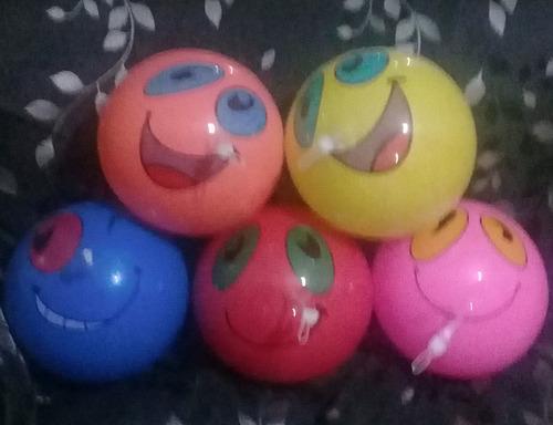 pelotas donaciones caritas emoji cumpleaños fiesta 2 soles