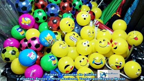 pelotas emoticones perfumadas y juguetes por mayor y campaña