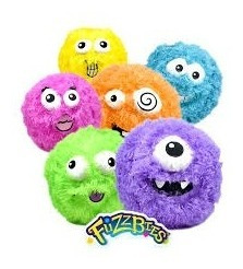 pelotas fuzzbies  pelotas de peluche inflables