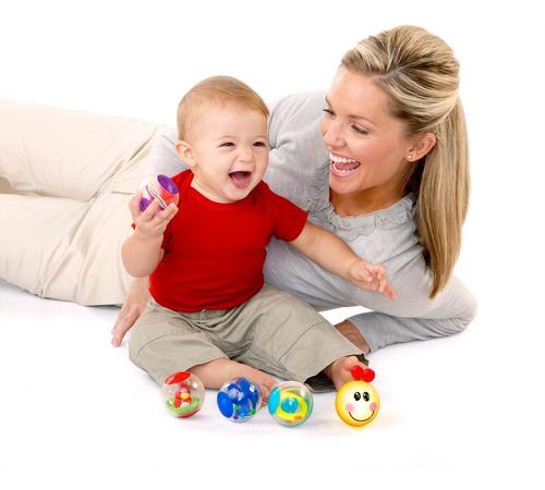 pelotas interactivas con luces y sonido einstein baby