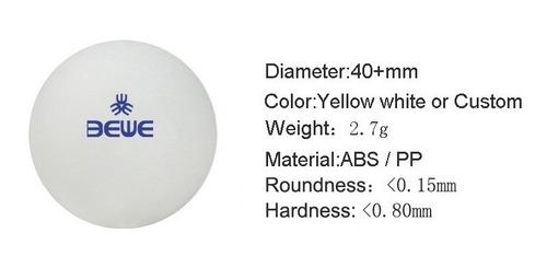 pelotas ping pong 60pz mayoreo profesional 5 estrellas 40mm