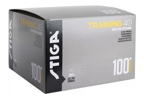 pelotas ping pong stiga 40+ training abs x 100 un. - olivos