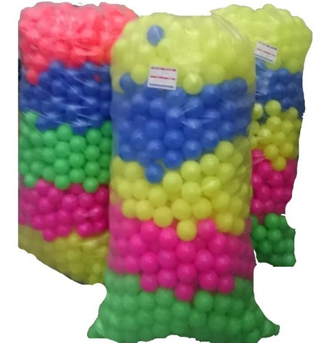 pelotas piscina bulto 500 unidades de colores calidad