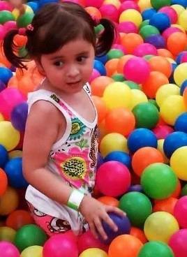 pelotas plásticas para piscina bolsa por 250 unidades