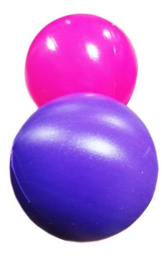 pelotas plasticas para piscina x 250 unidades 6 colores