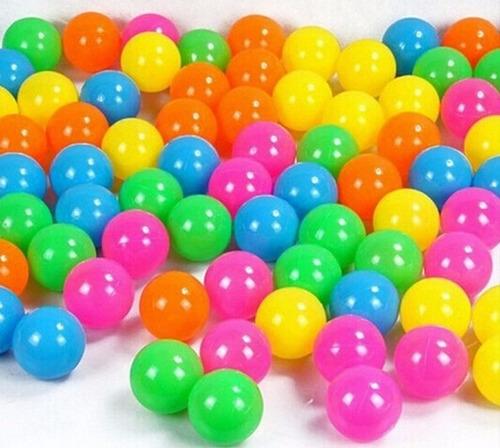 pelotas plasticas resistentes piscina bulto x 500 unidades