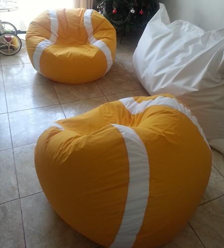 pelotas pouf  tenis gigante