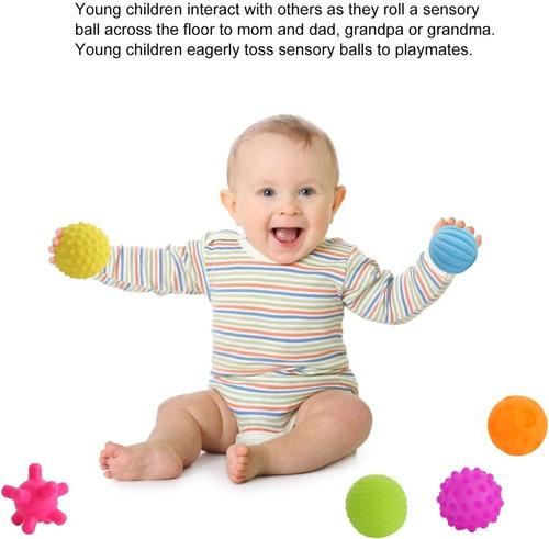 pelotas sensoriales 8 formas texturas colores en cadia