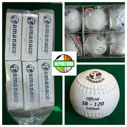 pelotas softbol tamanaco sb-120 softball