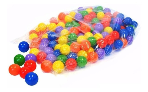 pelotas surtidas nº1  para pelotero x 50. medida 8 cm