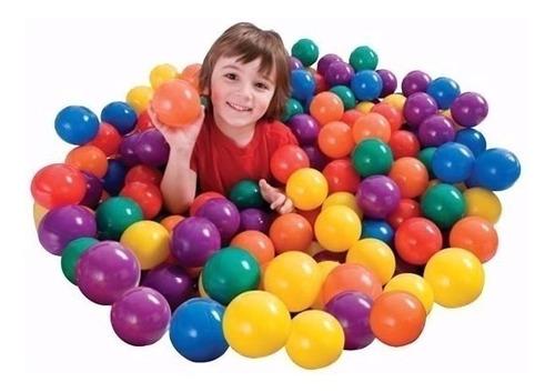 pelotas x 100  para piscina de pelotas de colores surtidos