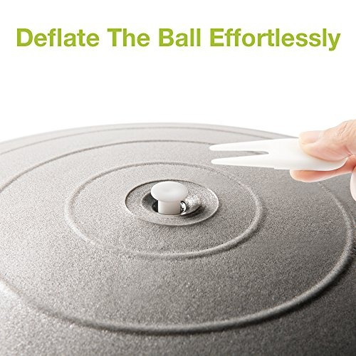 pelotas yoga: exercise ball, cozzine 65cm fitness buho store