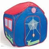 pelotero carpa castillo casita juego plegable azul