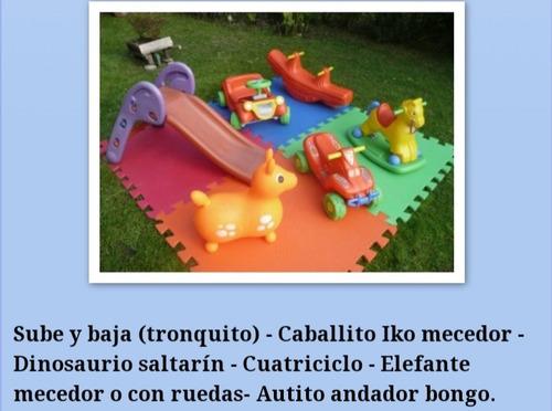 pelotero castillos inflable  cama elastica plaza blanda