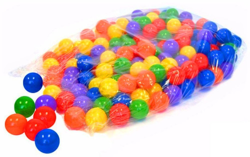 pelotero corralito corral + tobogan piso pelotas 2x1mt vegui