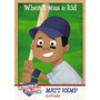 Cl27 Panini Triple Play 2012 When I Was A Kid Matt Kemp#289