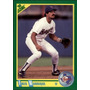 Bv Fred Manrique Texas Rangers Score 1990 #166